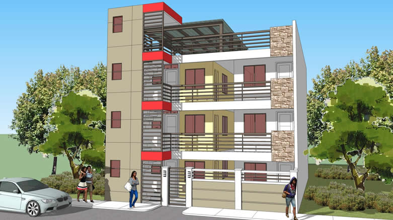 Low cost apartment design philippines joy studio design for Apartment plans philippines