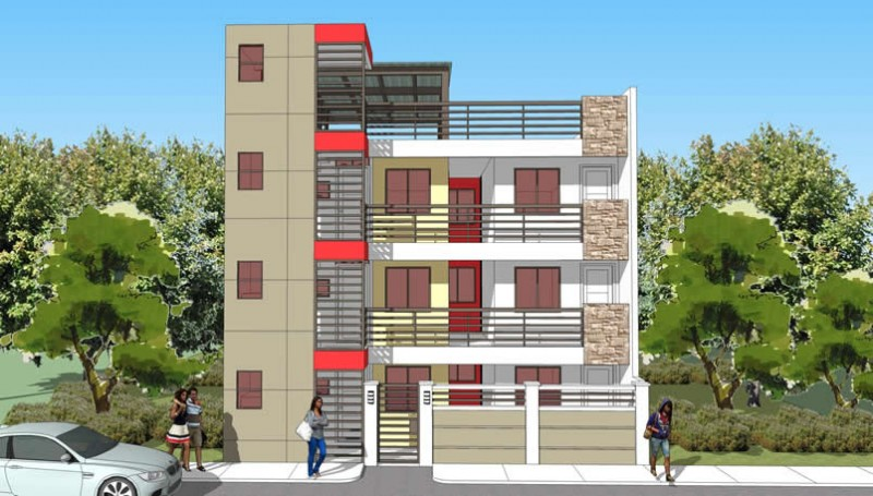 Apartment Building Designs Philippines 18 apartment block | philippines realty projects