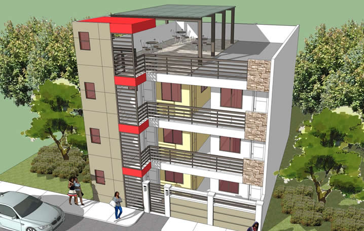 18 Apartment Block | Philippines Realty Projects