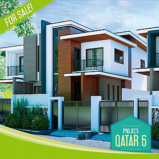 Qatar 6 single and duplex houses philippines realty for Modern house qatar